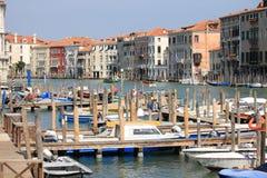 Gran Canal en Venecia Fotos de archivo libres de regalías