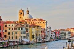 Gran Canal en Venecia, Italia Fotografía de archivo libre de regalías