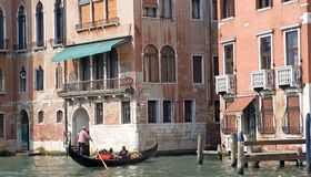 Gran Canal and gondola Royalty Free Stock Photography