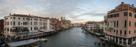Gran Canal Venecia Imagen de archivo libre de regalías