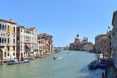 Gran Canal Venecia Fotos de archivo