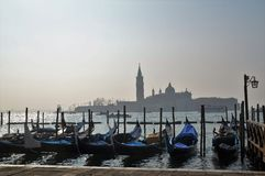 Gran Canal Venecia Italia Imagen de archivo