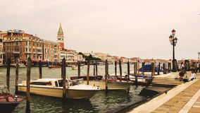 Gran canal of Venice Royalty Free Stock Image