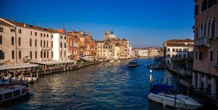 Gran Canal in Venice, Italy. Royalty Free Stock Photography