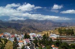 Gran Canaria, горное село Artenara Стоковые Изображения