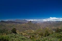 Gran Canaria, кальдера de Tejeda в мае Стоковые Изображения RF