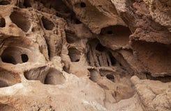 Gran Canaria, пещеры Valeron стоковое фото rf