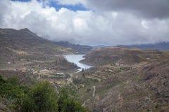 Gran Canaria, резервуар Chira Стоковая Фотография