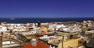 Gran Canaria. View sea-side Royalty Free Stock Image