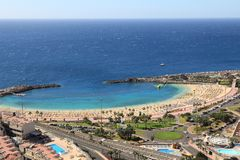 Gran Canaria Amadores royalty-vrije stock fotografie