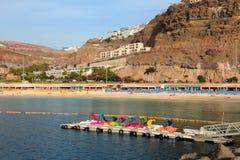 Gran Canaria Amadores fotografia de stock
