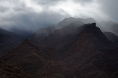 Gran Canaria, Barranco de Aldea Imagenes de archivo