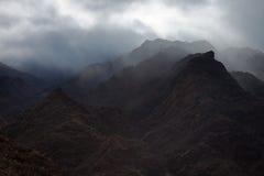 Gran Canaria, Barranco de Aldea Stock Images