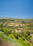 Gran Canaria, Barranco de Santa Brigida. Landscape Stock Image