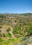 Gran Canaria, Barranco de Santa Brigida. Landscape Royalty Free Stock Photos