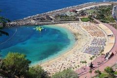 Gran Canaria beach Royalty Free Stock Photos