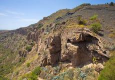 Gran Canaria, Caldera de Bandama, Royalty Free Stock Photos