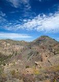 Gran Canaria, Caldera de Bandama arkivbild