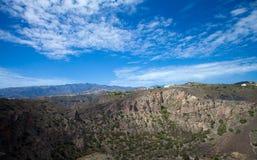 Gran Canaria, Caldera de Bandama fotos de stock royalty free