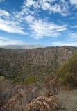 Gran Canaria, Caldera de Bandama. Within Tafira protected landscape stock image