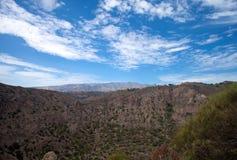 Gran Canaria, Caldera de Bandama. Within Tafira protected landscape royalty free stock photos