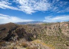 Gran Canaria, Caldera de Bandama Stock Image
