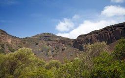 Gran Canaria, Caldera de Bandama Stock Photos