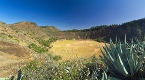 Gran Canaria, Caldera de los Marteles Stock Photo