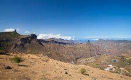 Gran Canaria, Caldera de Tejeda royaltyfri fotografi