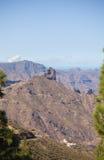 Gran Canaria, caldera de Tejeda Fotografie Stock