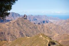Gran Canaria, caldera de Tejeda Fotografía de archivo libre de regalías