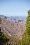 Gran Canaria, caldera de Tejeda Fotografía de archivo
