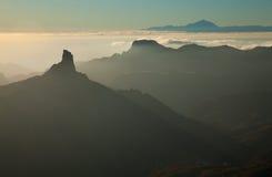 Gran Canaria, Caldera de Tejeda fotografering för bildbyråer