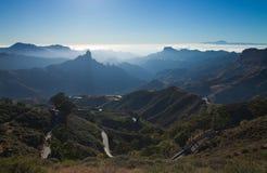 Gran Canaria, Caldera de Tejeda, royaltyfri bild