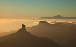 Gran Canaria, Caldera de Tejeda, arkivbilder
