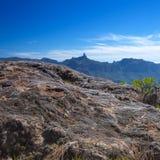 Gran Canaria, Caldera DE Tejeda stock afbeelding