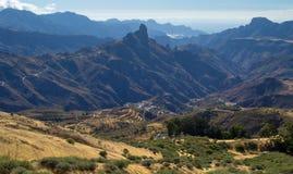 Gran Canaria, Caldera de Tejeda,afternoon light Stock Photo