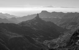 Gran Canaria, Caldera de Tejeda,afternoon light Royalty Free Stock Photo