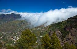 Gran Canaria, Caldera de Tejeda Stock Image