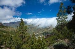 Gran Canaria, Caldera de Tejeda Stock Images