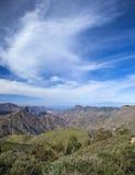 Gran Canaria, Caldera de Tejeda i Februari royaltyfria bilder