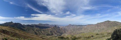 Gran Canaria, Caldera de Tejeda i Februari fotografering för bildbyråer