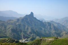 Gran Canaria, Caldera de Tejeda i Januari royaltyfri bild