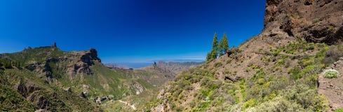 Gran Canaria, Caldera de Tejeda i vår royaltyfri bild