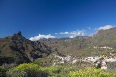 Gran Canaria, Caldera de Tejeda, Januari royaltyfri bild