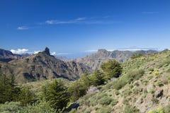 Gran Canaria, Caldera de Tejeda, Januari royaltyfri fotografi