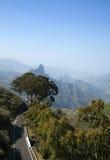 Gran Canaria, Caldera de Tejeda in January Stock Image