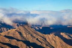 Gran Canaria, Caldera de Tejeda, morning light Royalty Free Stock Image