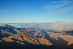Gran Canaria, Caldera de Tejeda, morning light Stock Photos