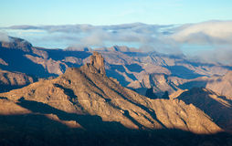 Gran Canaria, Caldera de Tejeda, morning light Stock Photography